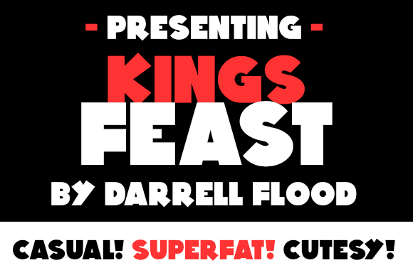Kings Feast Font Free