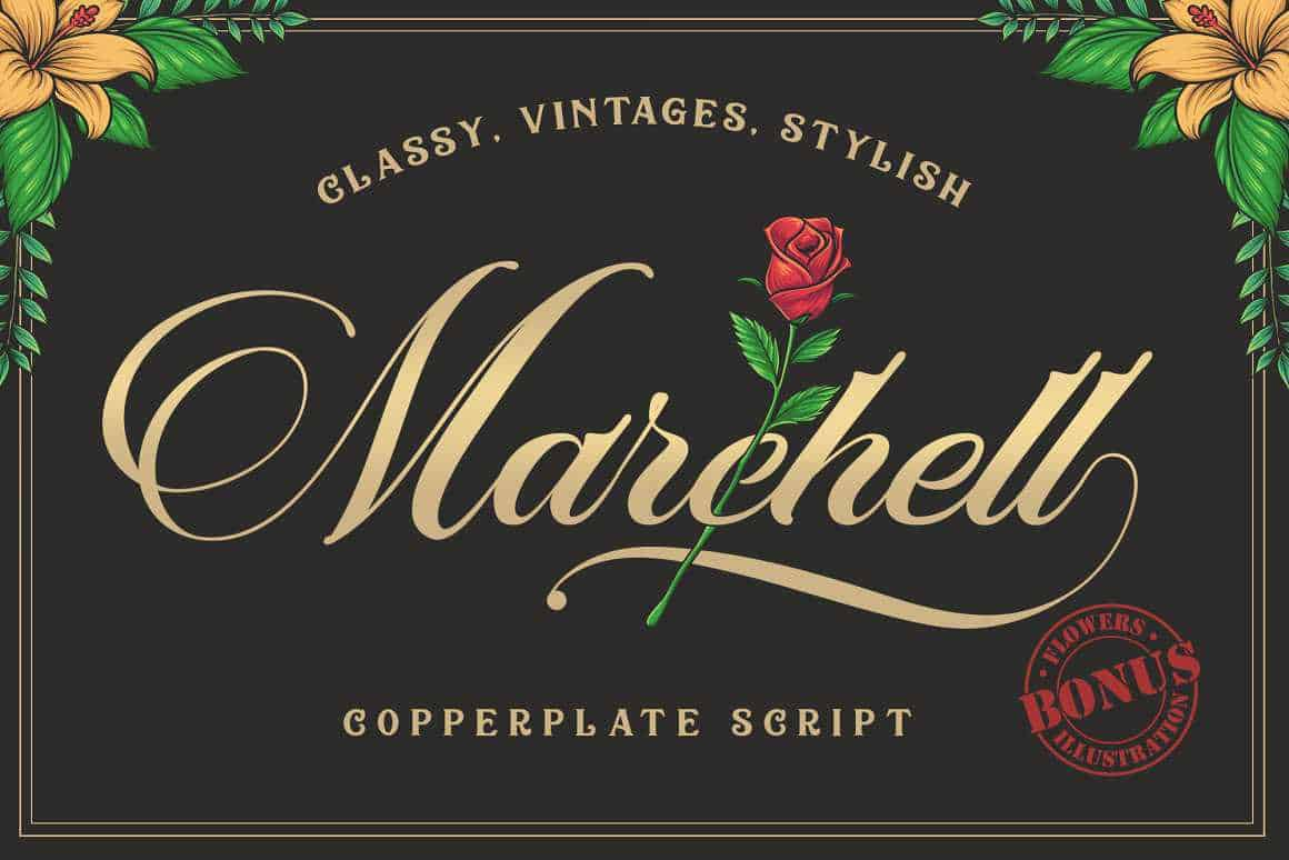 marchell-script-font