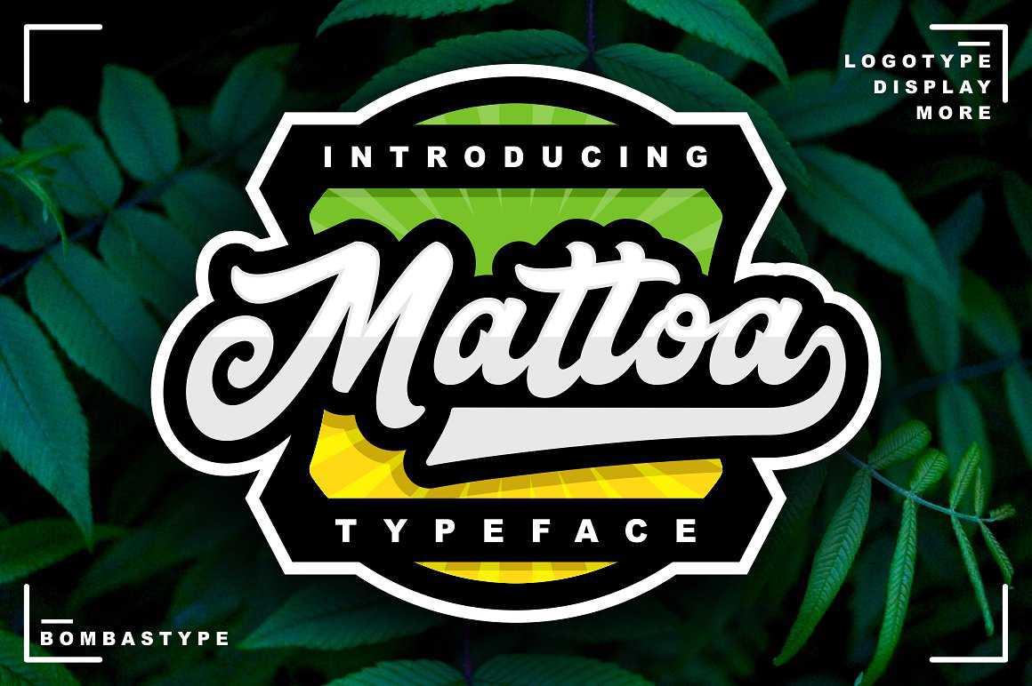 mattoa-script-font