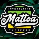 Mattoa Script Font Free