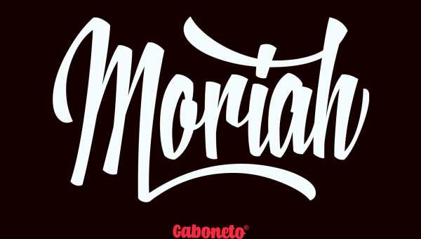 Moriah Script Font Free