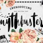 Mythbuster Script Font Free