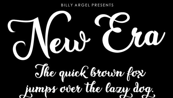 New Era Font Free Download