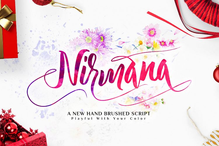 nirmana-calligraphy-font
