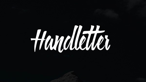 Handletter Font Free
