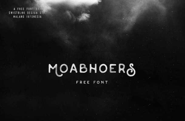 Moabhoers Font Free