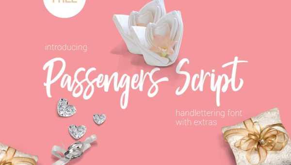 Passengers Script Font Free