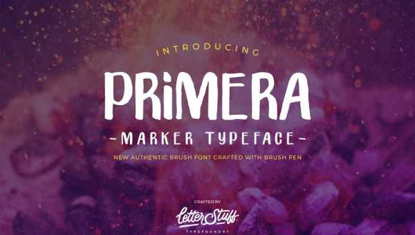 Primera Typeface Free Download