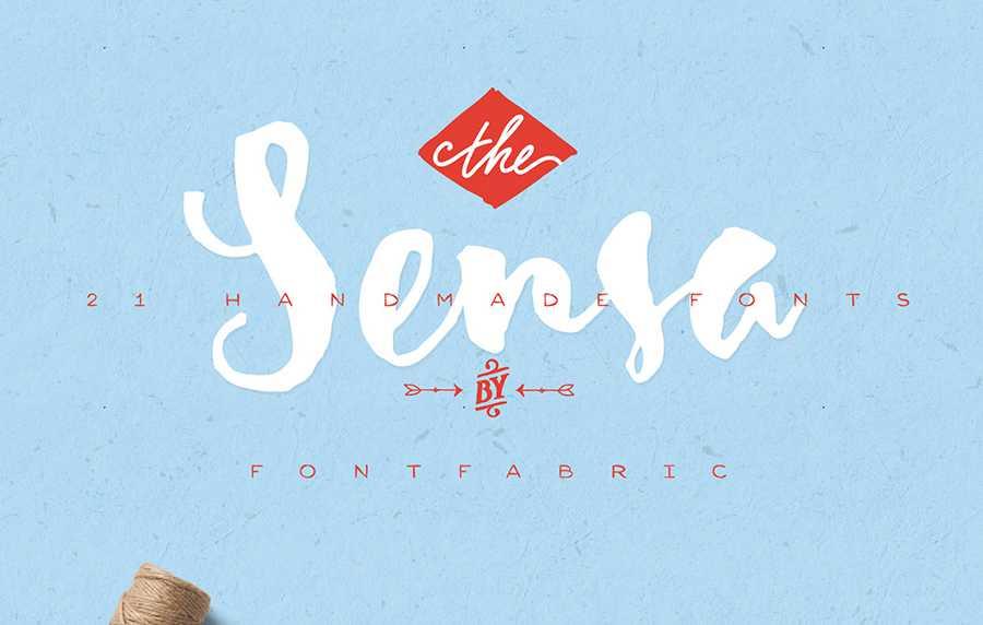 sensa-font-free