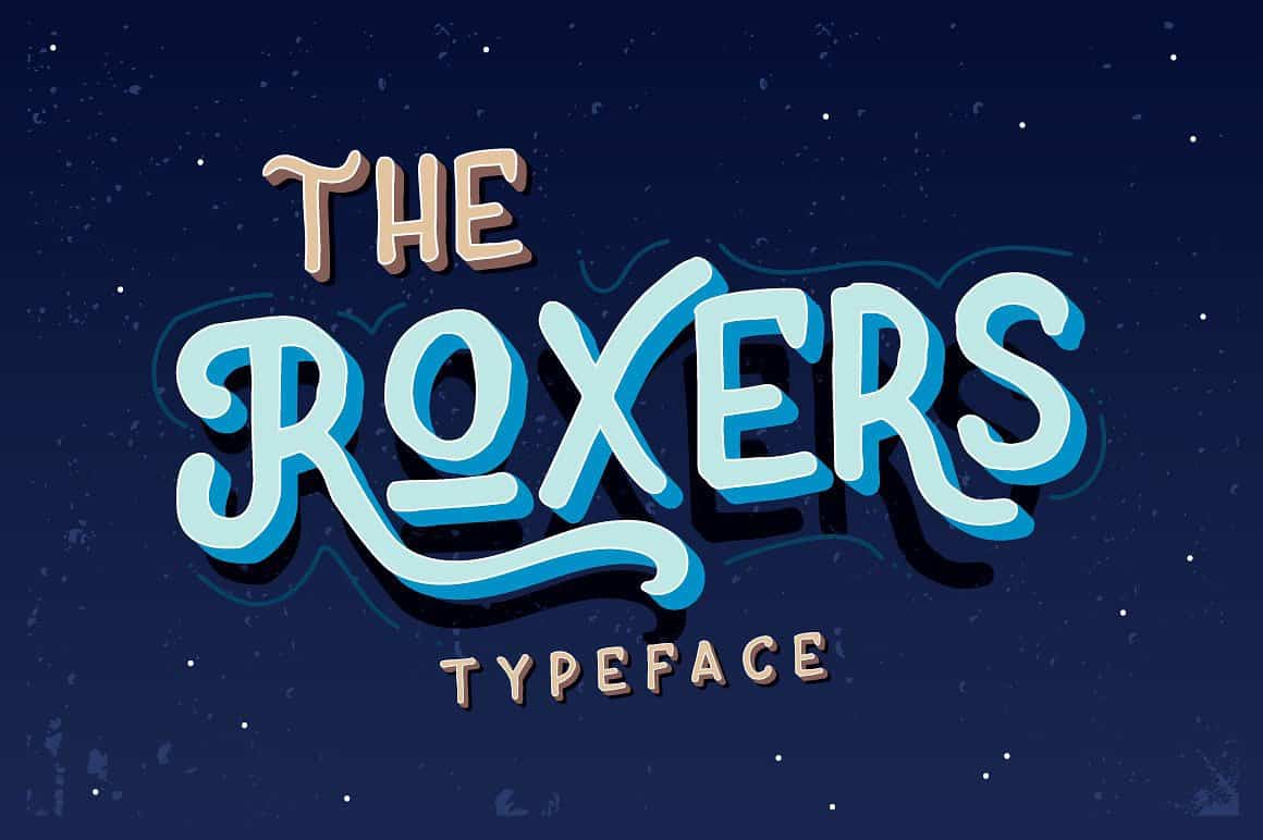 the-roxers-typeface