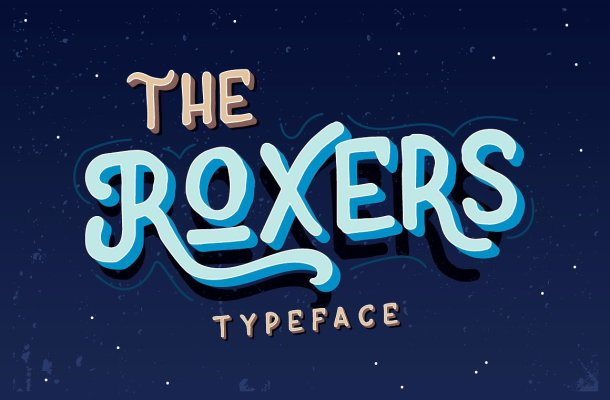 The Roxers Typeface Free