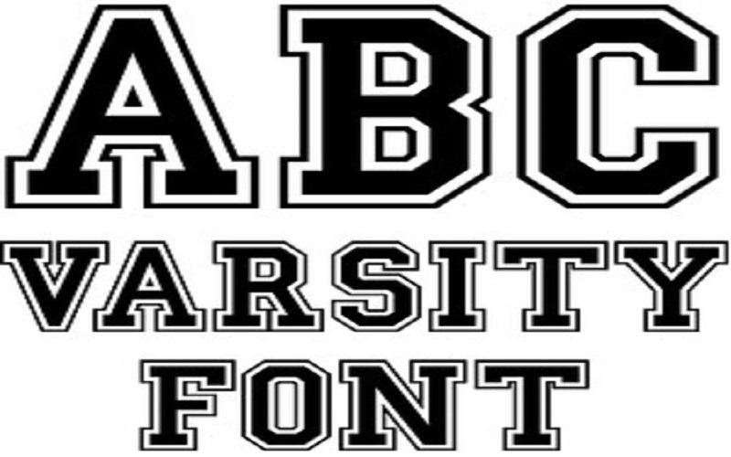 Varsity Font Free Download - Dafont Free
