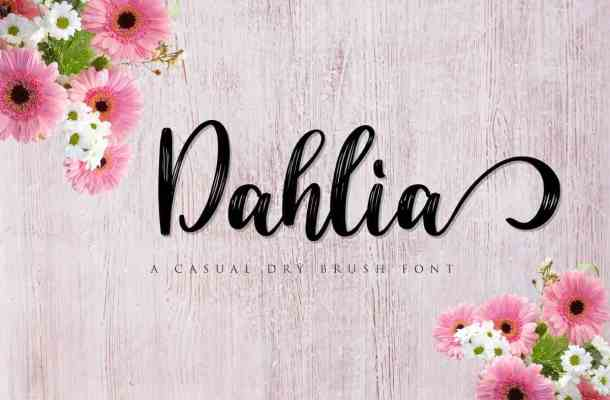 Dahlia Font Free Download