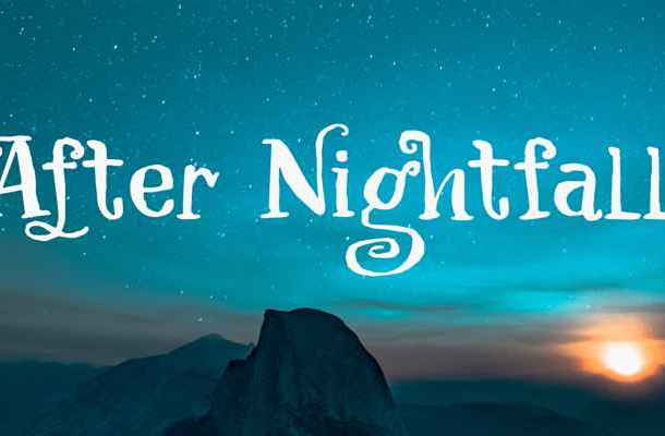 After Nightfall Font Free Download