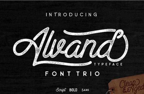 Alvand Font Family Free Download