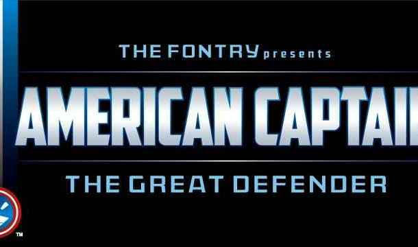 American Captain Font Free Download