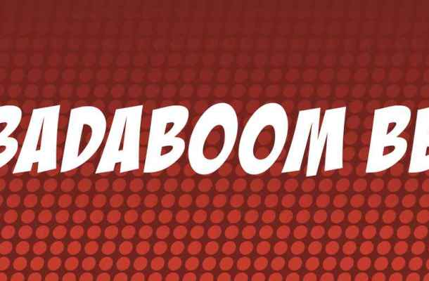 Badaboom BB Font Free Download