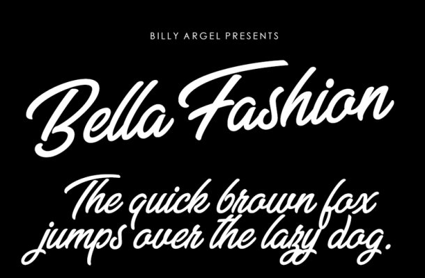 Bella Fashion Font Free Download