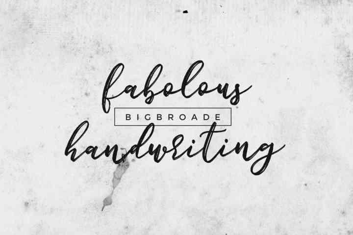 bigbroade-brush-font-1