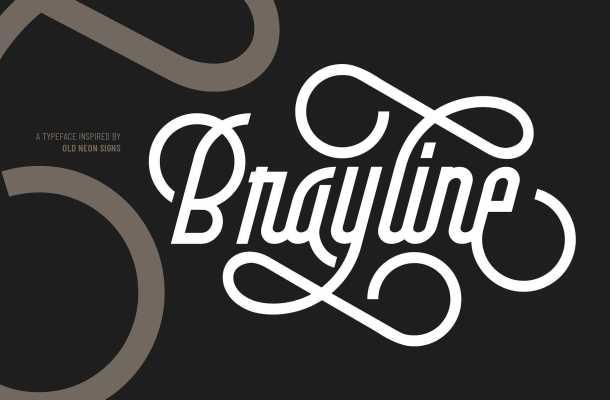 Brayline Typeface Free Download