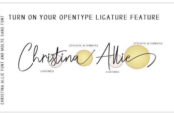 Christina Allie Script Font Free Download