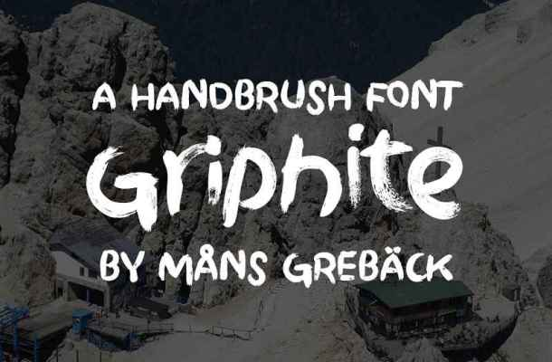 Griphite Font Family Free Download