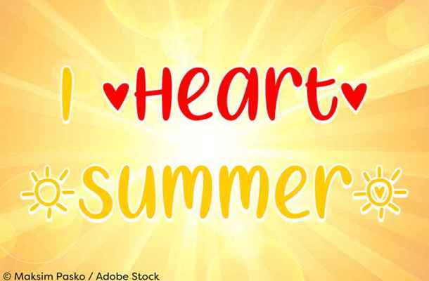 I Heart Summer Font Free Download