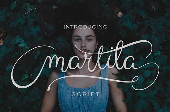 Martila Script Font Free Download