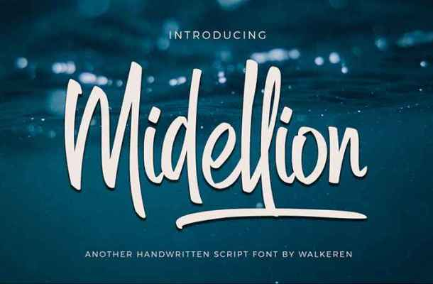 Midellion Font Free Download