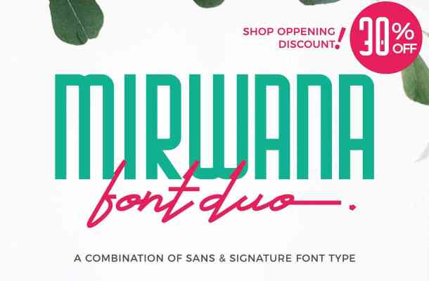 Mirwana Font Family Free Download