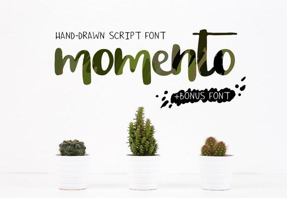 Momento Script Font Free Download