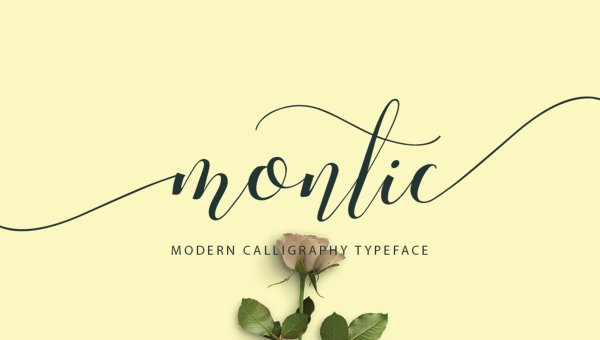 Montic Script Font Free Download