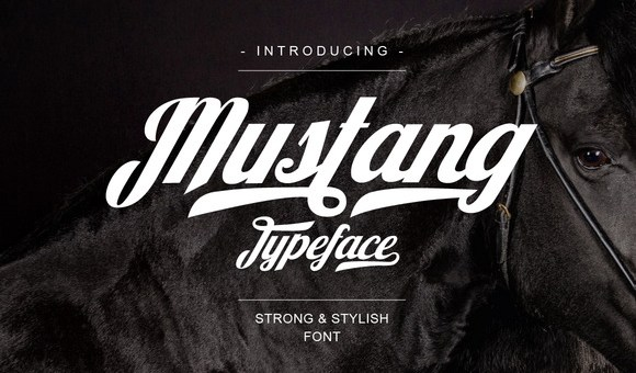 Mustang Script Font Free Download