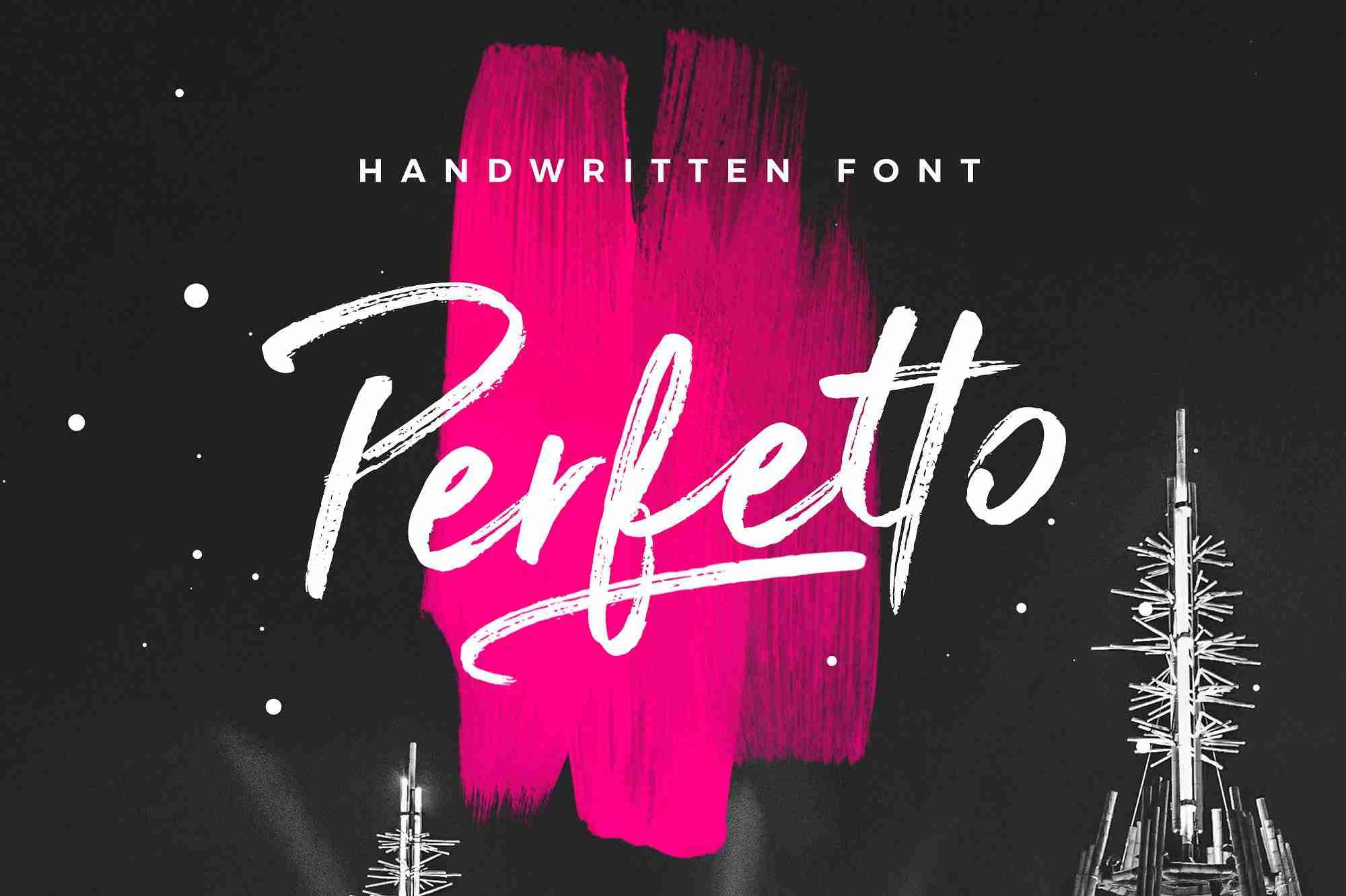 perfetto-brush-font