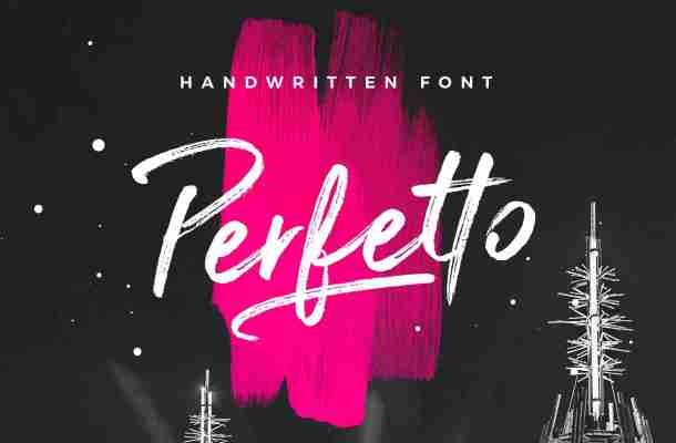 Perfetto Brush Font Free Download