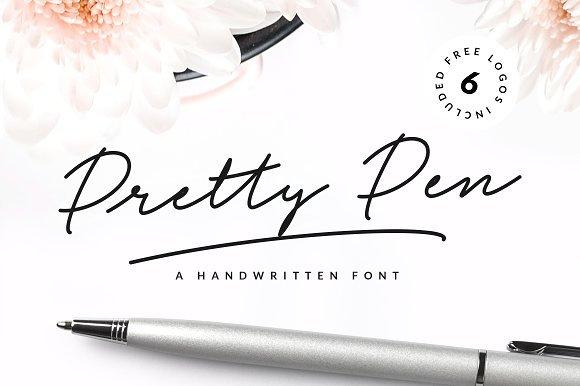 Pretty Pen Script Font Free Download
