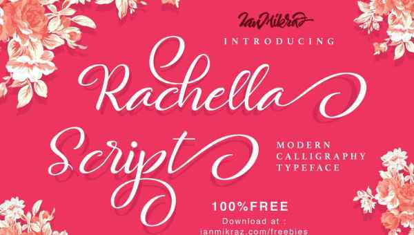 Rachella Script Font Free Download