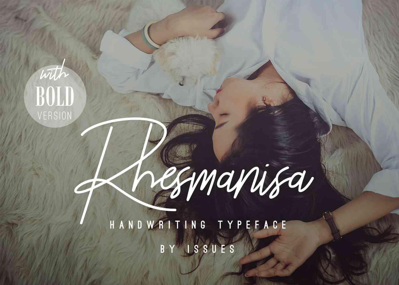 rhesmanisa-script-font