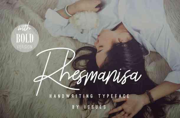 Rhesmanisa Script Font Free Download