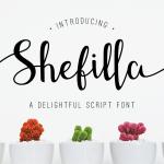 Shefilla Script Font Free Download