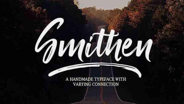 Smithen Script Font Free Download