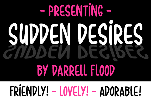 Sudden Desires Font Free Download