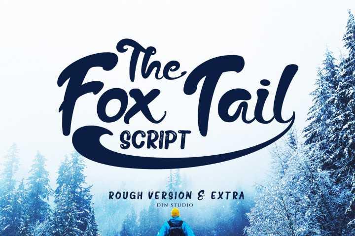 The Fox Tail Script Font Free Download - Dafont Free