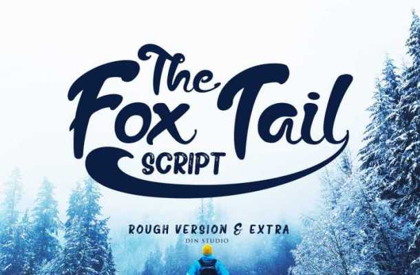 The Fox Tail Script Font Free Download