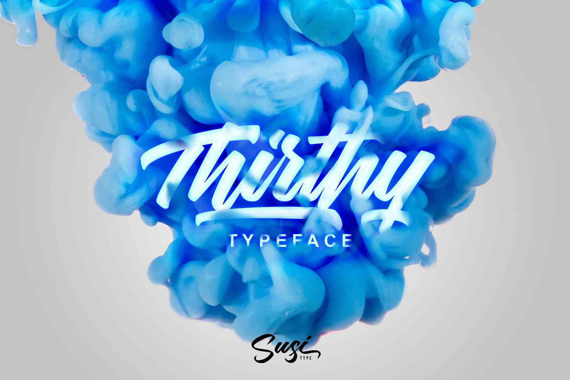 thirthy-typeface
