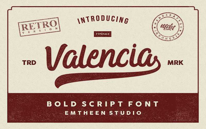 valencia-script-font1