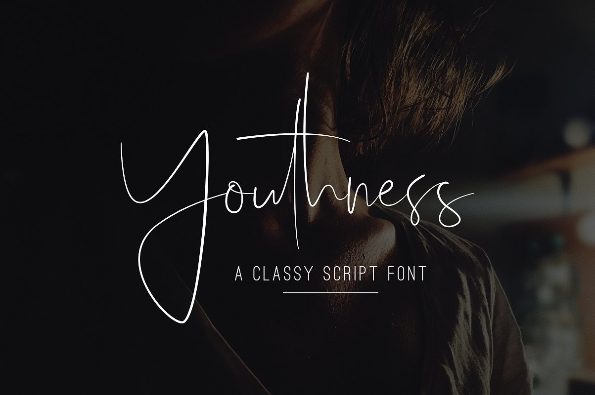 youthness-script-font