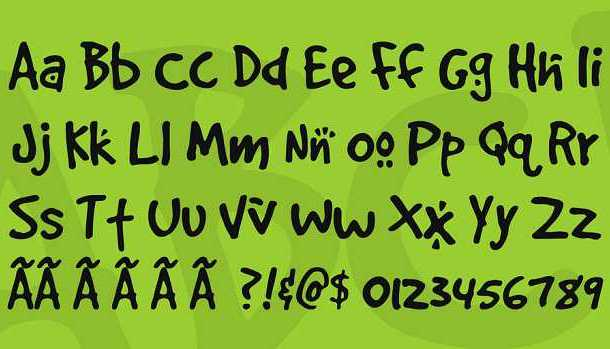 4 DOGS font