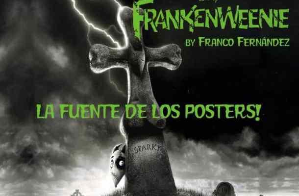 Frankenweenie Movie Poster font