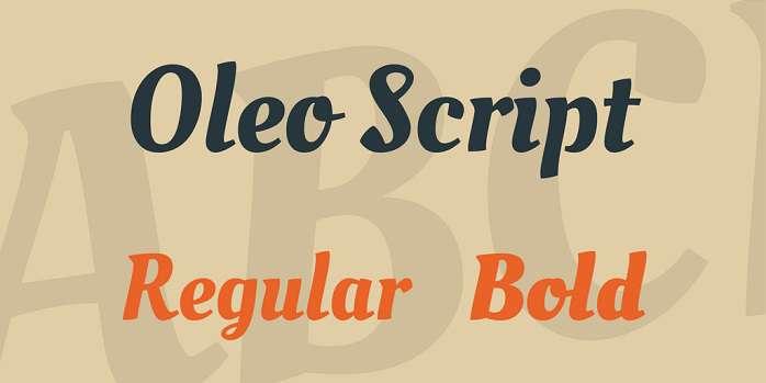 Oleo Script
